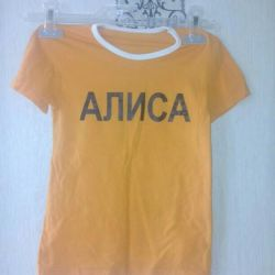 T-shirt for girls 5-8 years