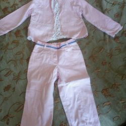 Suit for a new girl for 3-4 years