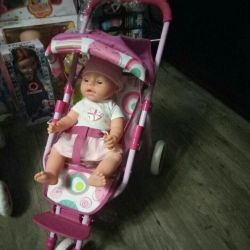 Baby Carriage for DOLLS