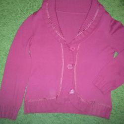 R, 48-50. Pink cardigan
