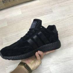 Spor ayakkabı Adidas Iniki All Black