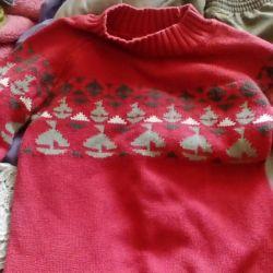 Παιδικό πουλόβερ για 5 χρόνια