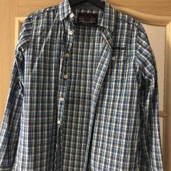 Erkek çocuk için gömlek 164