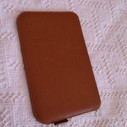 Carcasă de telefon din piele autentică