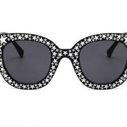 Αντιηλιακή προστασία, γυαλιά εικόνας με αστέρια Νέο
