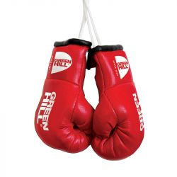 SOUVENIR BOXING GLOVES GREEN HILL RED