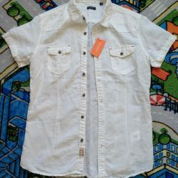 Noul cămașă pentru bărbați cu dimensiunea 46-48