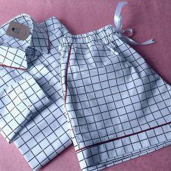 long shirt with shorts