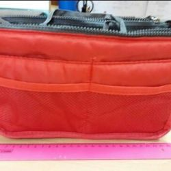 Cosmetic bag-organizer.