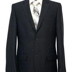 Мужской костюм цвет Маренго