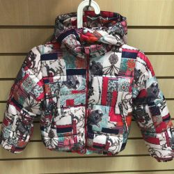 New children's jacket for about 6 years