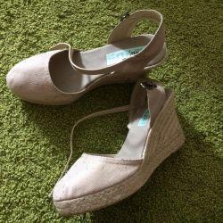 New espadrilles 39 sandals