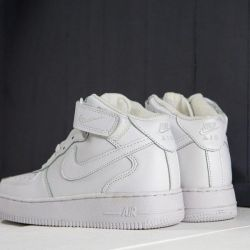 Nike Air Force 1 Winter White Sneakers
