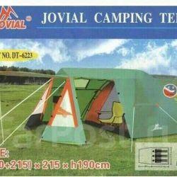 Tourist tent Jovial camping tent dt-6223