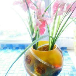 Stylish bowl-bowl (thick, color-green) CZECH REPUBLIC