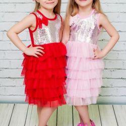Kız için şık elbise