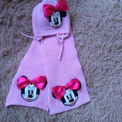 Hat scarf for children