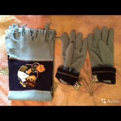 Ben Ten scarf and gloves