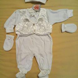 Κοστούμι για την απαλλαγή 56-62 ΝΕΟ ανά αγόρι