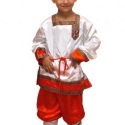 Bir erkek için Rus kostümü