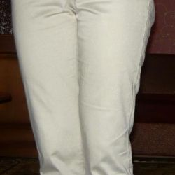 Cropped pants r. 42