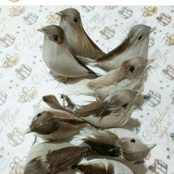 Păsări decorative 8-10 cm