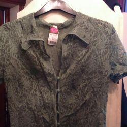 Lace blouse, p.48-50, new