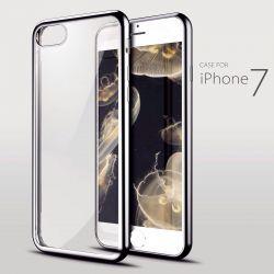 чохол з хромованими вставками для iPhone 7 4.7