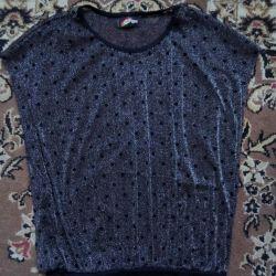 Прозрачная блуза или накидка