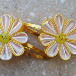 Hairpins-flowers