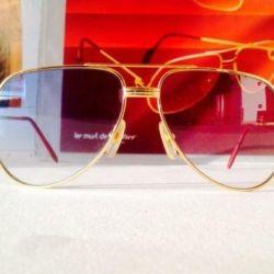 Cartier frame Vendome Louis Vintage gold new