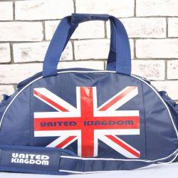 Çocuklar için spor çantası İngiltere + izle