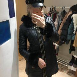 Куртка эко кожа новая s