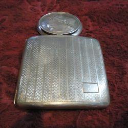 Ladies silver cigar
