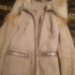 Koyun derisi ceket, doğal