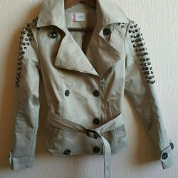 Used Jovonnista Trench Coat