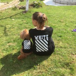 T-shirt for dog and owner