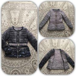 Стильная фирменная куртка на весну