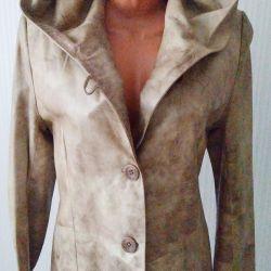 New jacket, leather.