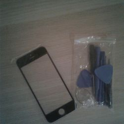 Sticlă pe iphone 5s