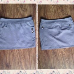 New skirt gray