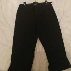 Μαύρα τζιν παντελόνια, μέγεθος 44
