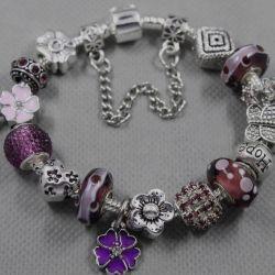 Bracelet in the style of Pandora 1994