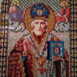 Набор алмазной вышивки «Николай Чудотворец»