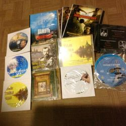MP3 and DVD discs, church themes.
