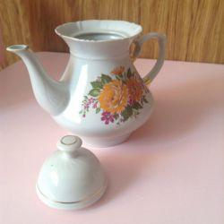 Porțelan ceainic timp URSS