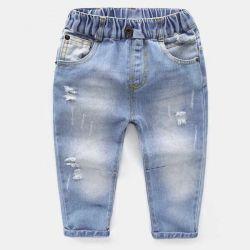 Jeans pentru copii pe moda elastică nouă 2018☘️