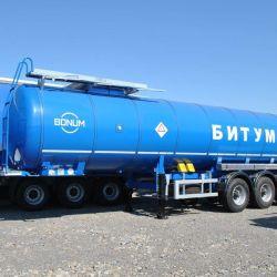 Semiremorcă cisternă de bitum Bonum - 28m3