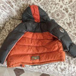 Jachetă în jos pentru un băiat