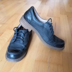 Shoes (boots) leather for women